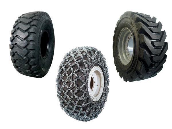 pneumatici e catene da nevec